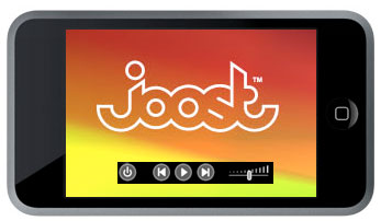 Joost iPhone app