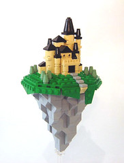 Micro Flying Citadel (DARKspawn) Tags: castle flying lego citadel micro