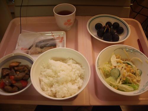 07年9月4日の夕食