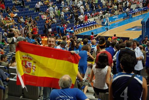 ramon eurobasket bandera españa