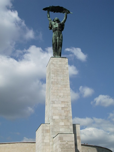 Statue on Gellert Hill
