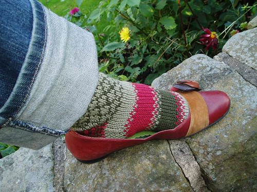 Keble college socks - finished object