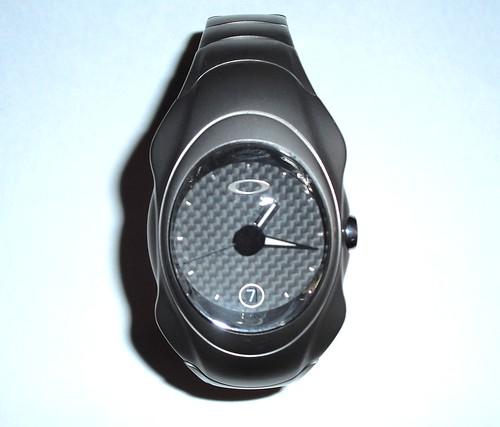 oakley time bomb titanium watch