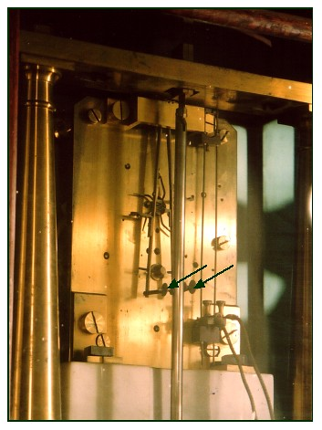 The Denison escapement on the Vassar clock