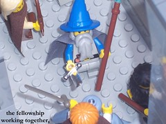 Lord of the Rings Custom Lego Moria, Balin's Tomb Sequence Shot