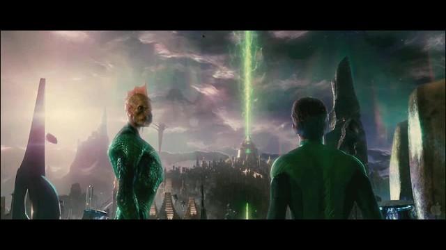 Linterna Verde escena Hal y Tomar