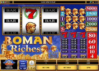 Roman Riches slot game online review