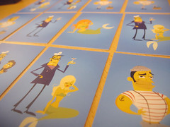 S&M business cards (Strandell) Tags: blue illustration moo businesscards sailorsandmermaids
