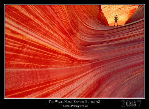 The Wave, North Coyote Buttes AZ
