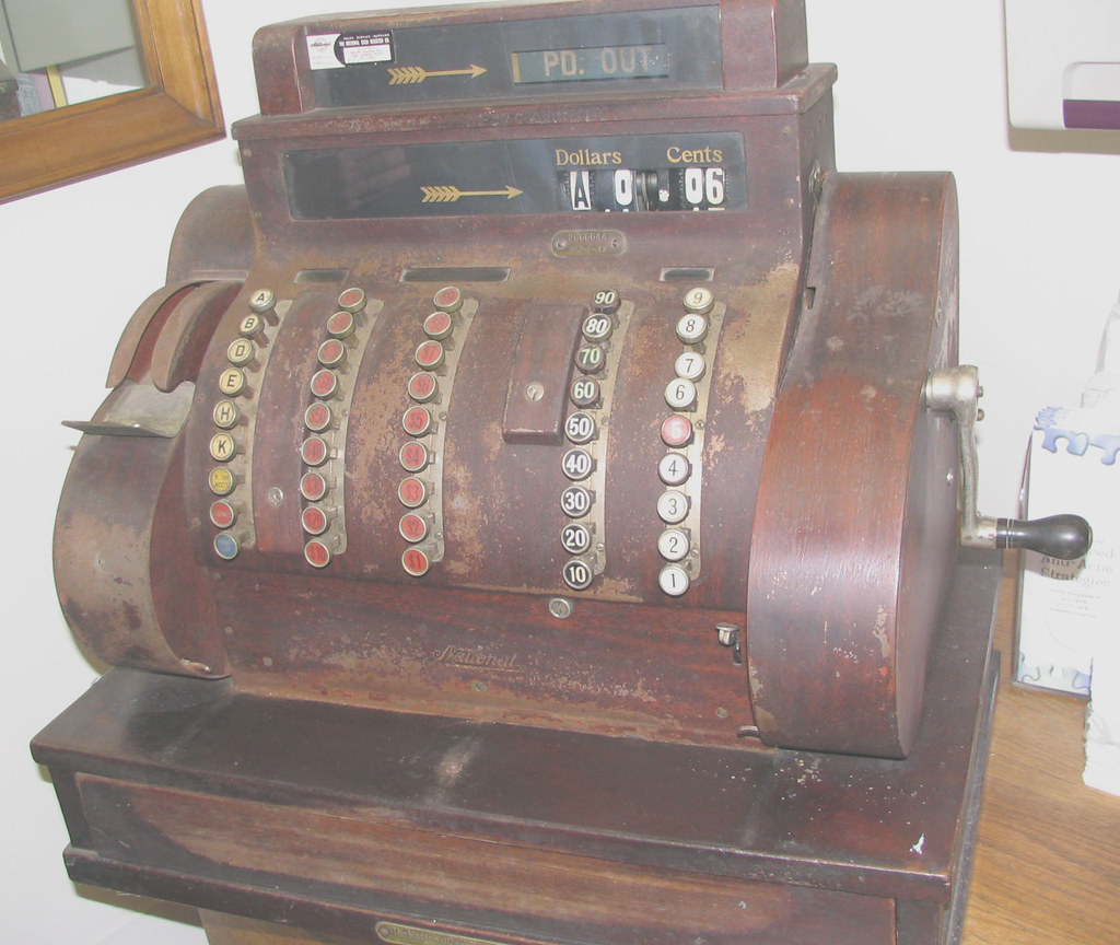A Classic Cash Register