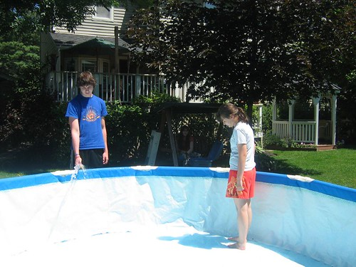Endless Task...Filling the Pool
