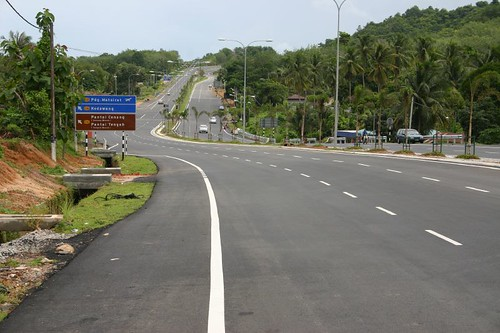 Great roads on Pulau Langkawi...