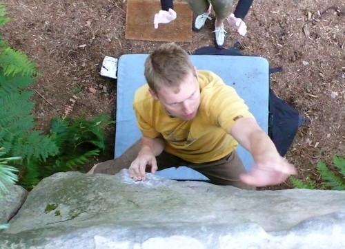 Anders Bouldering in Bleau