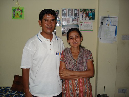 Gajendra and Manju Tamang, Awana missionaries and Directors of Awana Nepal