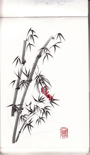 Bamboo practice071301.jpg