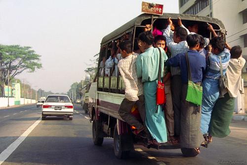 Myanmar  -  bus