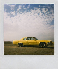 Chief Yellowhorse (olla podrida) Tags: arizona polaroid cadillac navajo polaroid600 cadi navajonation chiefyellowhorse ollapodrida