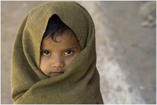 Little girl-Gujarat (Kutch)