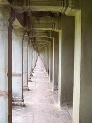 Outdoor gallery, Angkor Wat