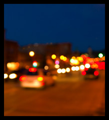 traffic@night (Adam FLiK) Tags: road street city west cars night lights focus traffic bokeh dundee rt72 diamondclassphotographer flickrdiamond excellentphotographerawards flikproductionscom adamflikkema