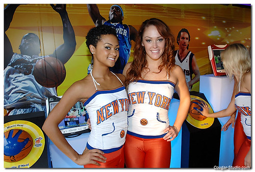 Knicks Dancers? Flickr/Cougar-Studio
