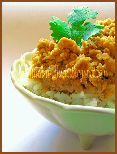 Taiwanese Minced Meat Bowl 2