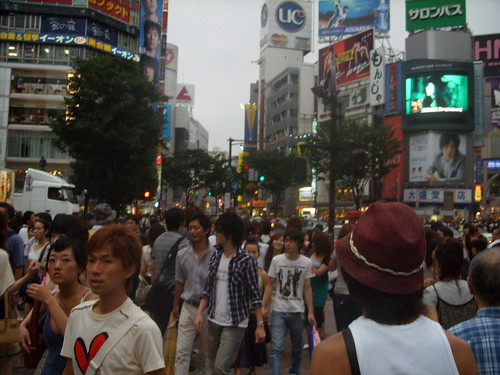 Tokyo: Crosswalks in Shibuya