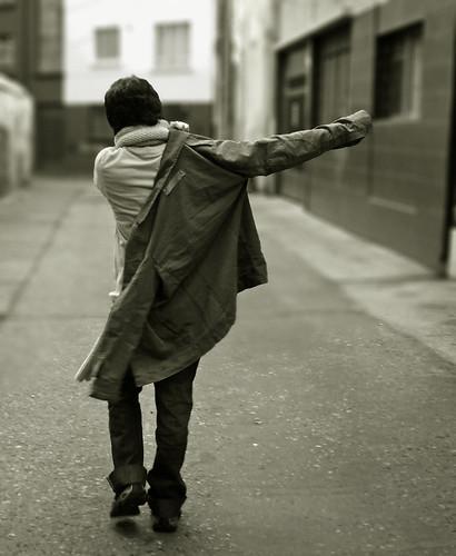 Walking Alone by Christian Carocca.