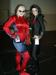 Rogue and Baroness (BelleChere) Tags: xmen rogue dragoncon baroness gijoes dragoncon2007