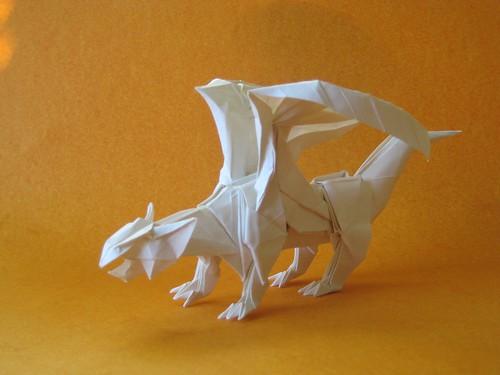 Origami Dragon 07