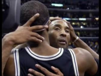 Kobe cries