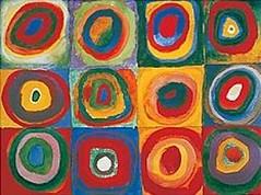 Wassily-Kandinsky_Colour-Study---Squares-And-Concentric-Wassily-Kandinsky-97176 (cecy_investigacion) Tags: xx siglo metafsica
