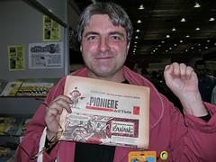 Paolo Moisello - Moise - inviato speciale di afNews a Rapallo 2008 - photo Goria - click per ingrandire e leggere altro