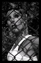 Hey Mami - Dana Tkacz (Danny Girl Photography) Tags: fashion mami smoking latina hoops gangsta pinup wifebeater danatkacz