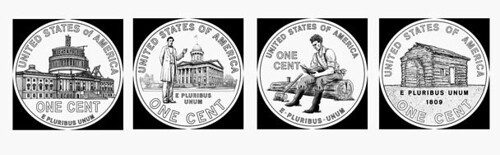 Lincoln Cent 2009 Designs