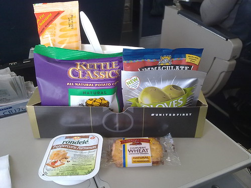 United Express First Class Afternoon Box
