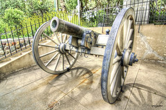 Fire Power (TaishiMatsumoto) Tags: park wheel photoshop canon power arms tokina weapon hdr irvine firepower 3xp photomatix irvineparkrailroad 1116mmf28