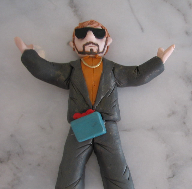 Justin Timberlake SNL-themed Cake Topper by Whipped Bakeshop