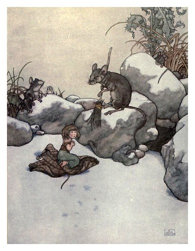009-Tommelise-Hans Andersen's fairy tales (1913)- William Heath Robinson