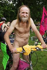 London Naked Bike Ride 2007
