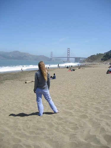 Me at Baker Beach