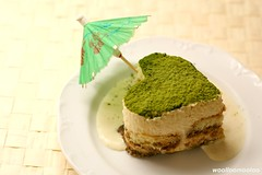 do you ♥ a matcha tiramisu? ^-^/