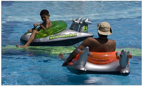 Riu Palace Cabo pool battle