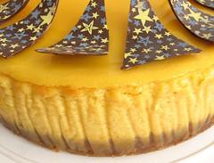 Mango Cheesecake - Detail