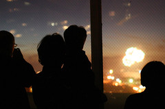 Family Watching Fireworks (ToastyKen) Tags: sanfrancisco family fireworks fourthofjuly 4thofjuly independenceday project365