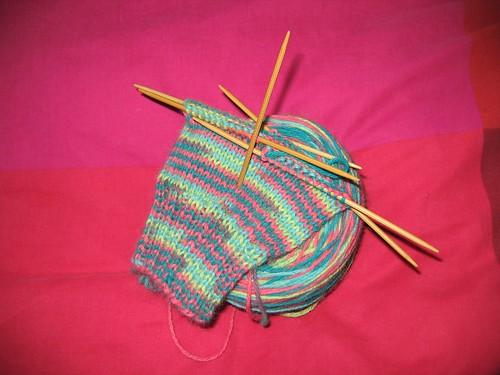 Lovebird socks 1