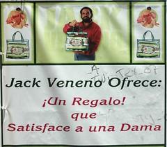 Jack Veneno vende vaina