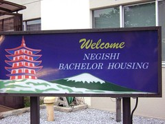 Bachelor Housing Sign