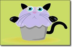 Kitten in a Cupcake