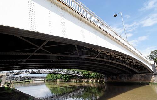 Twelvetrees Crescent bridge, Bow